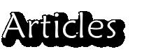 Good Health Articles
